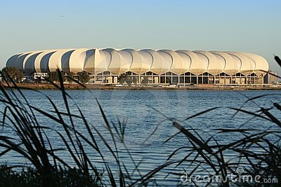 Soccer Stadium, Port Elizabeth, South Africa Editorial Stock Image