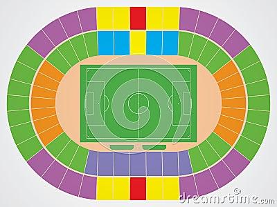 Soccer stadium scheme