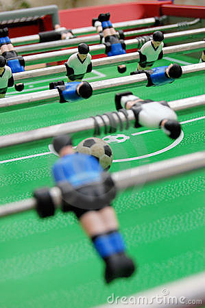 Free Soccer Table And Players Stock Images - 797924