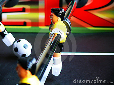 Soccer Table Defense