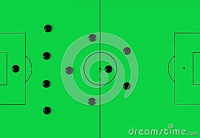 Soccer tactics 41212