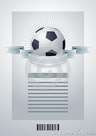 Soccer template.