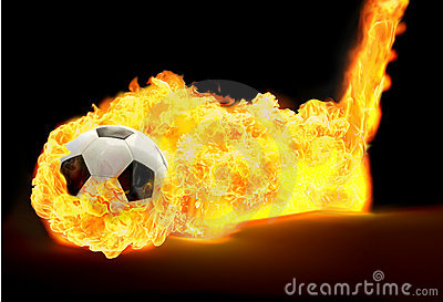 Soccerball fire
