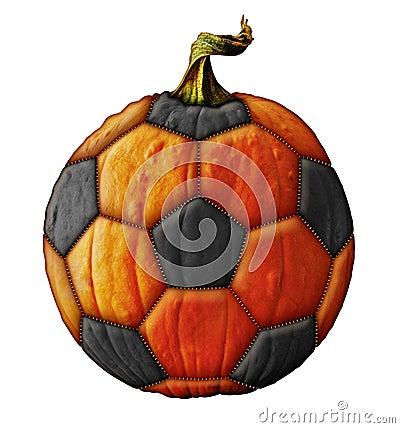 Soccerball Pumpkin