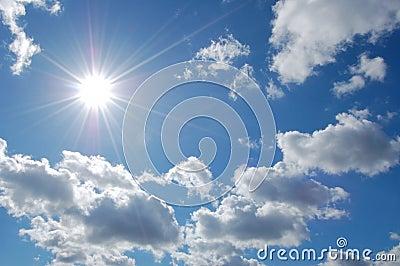 Słońce, niebo