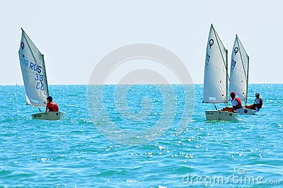 Sochi regatta in the Olympic classes Editorial Photo