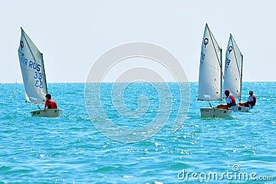 Sochi regatta in the Olympic classes Editorial Photo