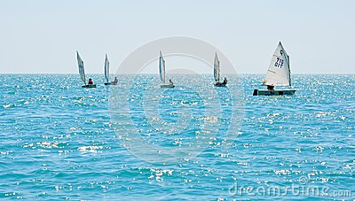 Sochi regatta in the Olympic classes Editorial Image