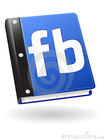 Social Book Icon Editorial Stock Photo