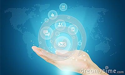 Social business communication