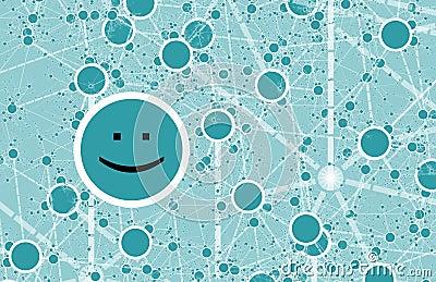 Social Circle Online Friend Network