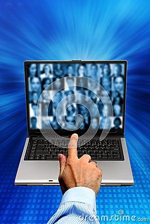 Social de réseau