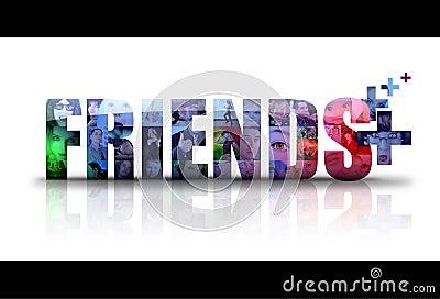 Social Friends Icon Logo