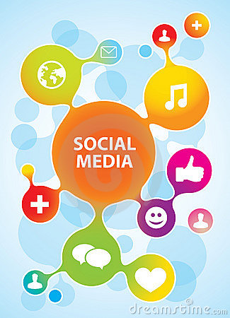 Free Social Media Icons Stock Images - 23252454