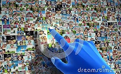 Social media network.