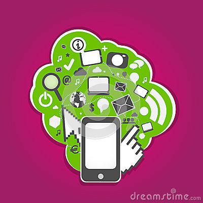 Social media smart phone technology