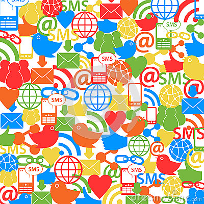 Social Network Background Royalty Free Stock Photos - Image: 26139478