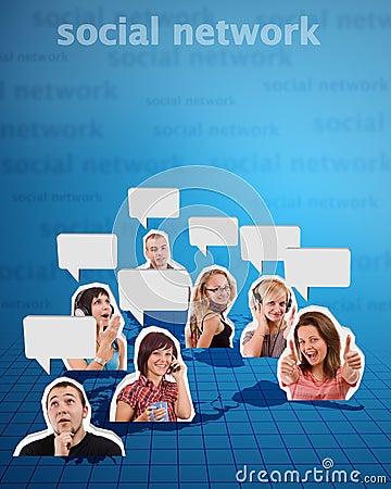 Social network concept 2