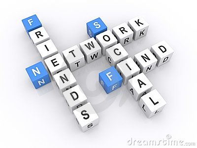 Social network cubes