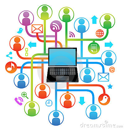 Social network laptop SING