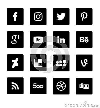 Free Social Network Logo Stock Photo - 113278870