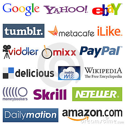 Free Social Network Logos [2] Royalty Free Stock Image - 21706546