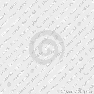 Social network seamless pattern Vector Illustration