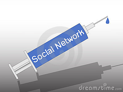 Social network on syringe