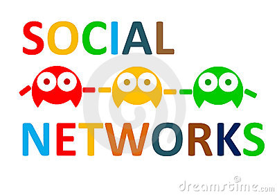 Social networks connect people