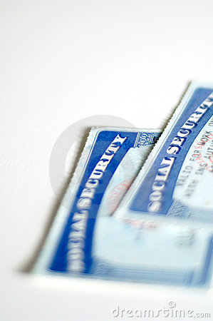 Free Social Security Cards Royalty Free Stock Photo - 527775