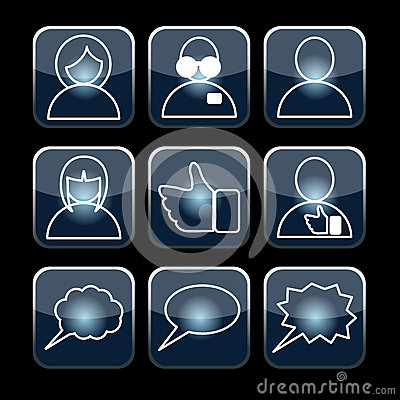 Social set vector
