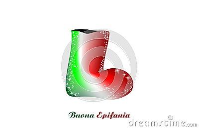 Sock Epiphany, Italian