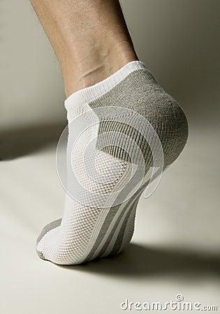 Sock underside