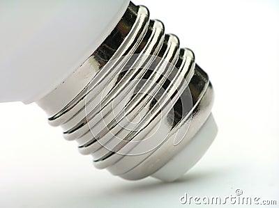 Socket of power saving light bulb