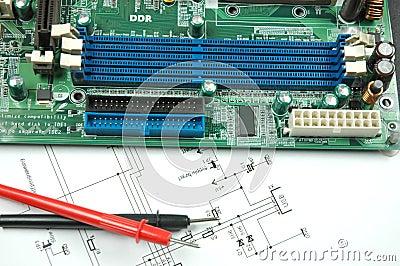 Sockets on printed circuit board