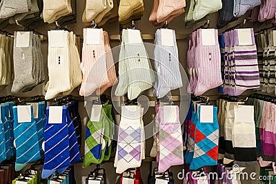 Socks in stores