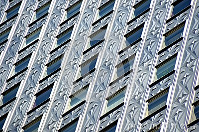 Socony-Mobil Building close-up