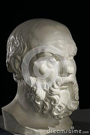 Socrat bust