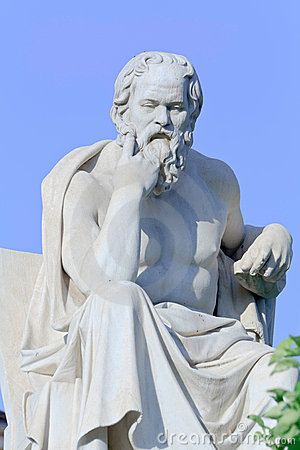 Socrates Statue Royalty Free Stock Photos - Image: 15445178