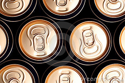 Soda/beer cans