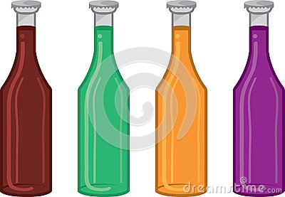 Soda Bottle Colors