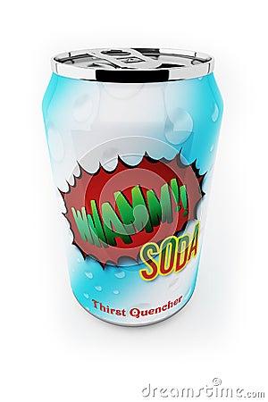 Free Soda Can Royalty Free Stock Photos - 6523658