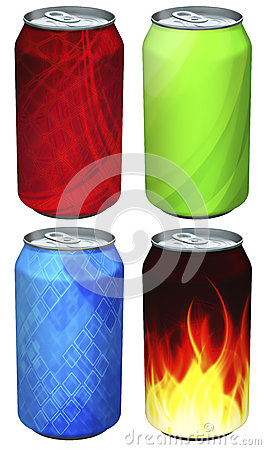 Soda can models