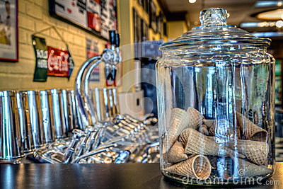 Soda Fountain Editorial Stock Image