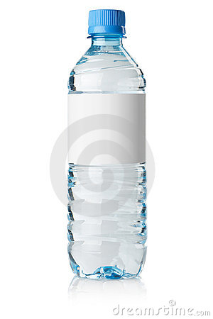 Free Soda Water Bottle With Blank Label Royalty Free Stock Images - 15382319