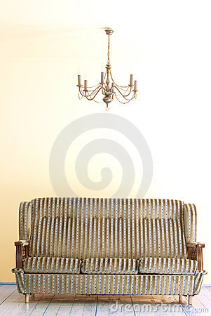 Free Sofa And Lamp Stock Image - 1008301