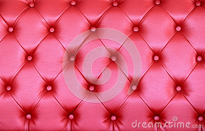 Tufted Leather Texture Vintage pink sofa surface.