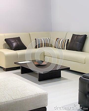 Sofa dans la chambre de reste