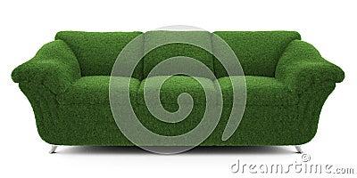 Sofa grass