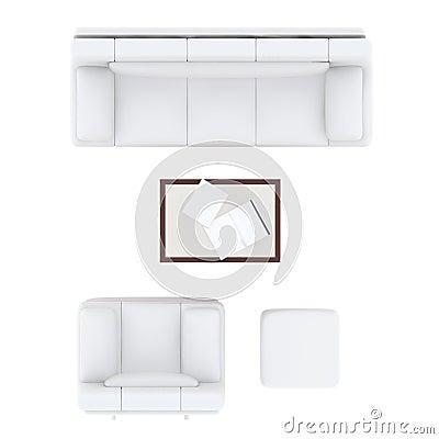 Sofa Living Room Set Stock Illustration Image 67063328